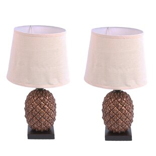 Pineapple 20 Table Lamp (Set Of 2) by DEI New