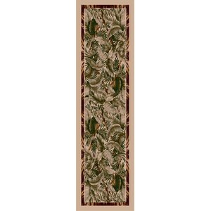 Signature Jungle Fever Pearl Mist Area Rug