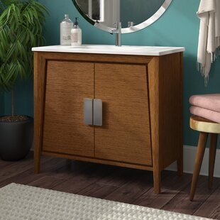 Inexpensive Emerson 35 Single Bathroom Vanity Set By Langley Street