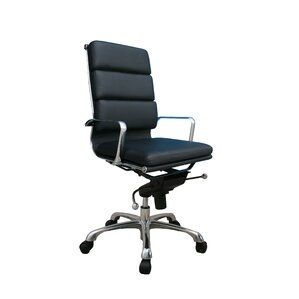 Waymire Leather Desk Chair