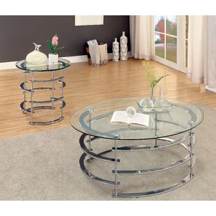 Scylla 2 Piece Coffee Table Set by Orren Ellis