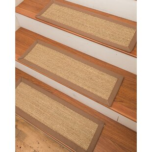 Awesome Costa Rica Seagrass Carpet Beige Stair Tread