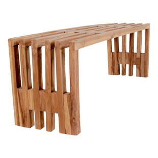 Bourgeois Wood Bench By Union Rustic