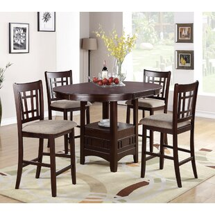 Paislee 5 Piece Counter Height Dining Set