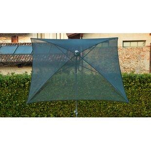 Oli 1.8m Square Traditonal Parasol By Sol 72 Outdoor