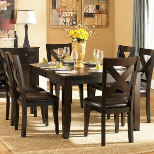 Carriage Hill 7 Piece Extendable Dining Set Red Barrel Studio