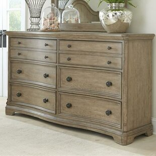Paredes 6 Drawer Double Dresser by One Allium Way 2019 Sale