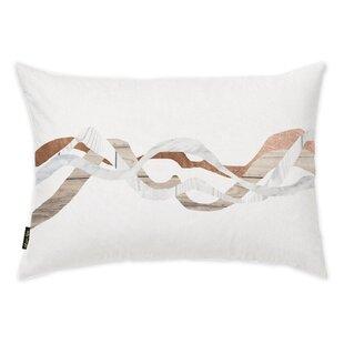 Oakledge Braids Of Copper Lumbar Pillow