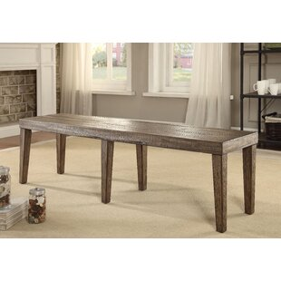 Canora Grey Shelby Wood Bench