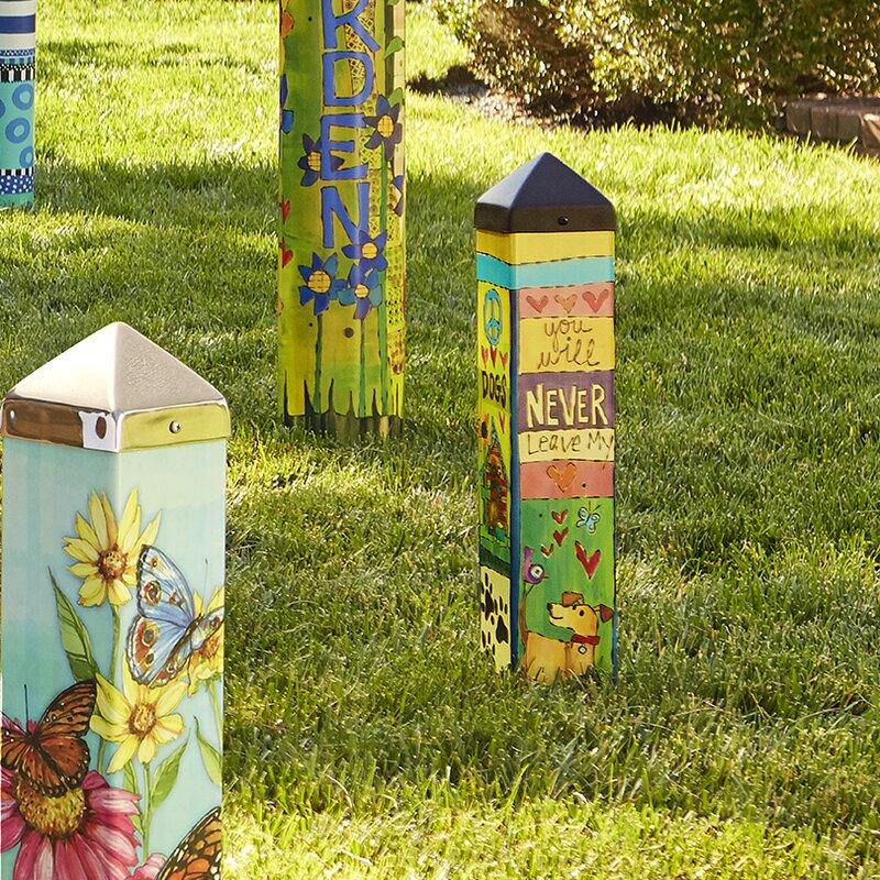 Studio M Dog Lover Art Pole Garden Stake & Reviews | Wayfair