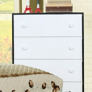 Competitive Pricing Pavlovich Wooden 4 Drawer Chest