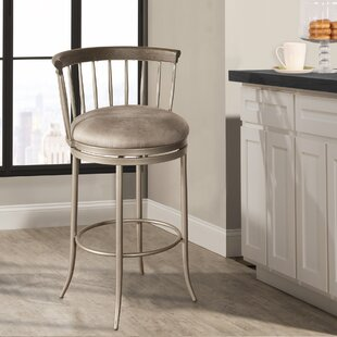 Thach 26'' Swivel Bar Stool by Everly Quinn Wonderfult