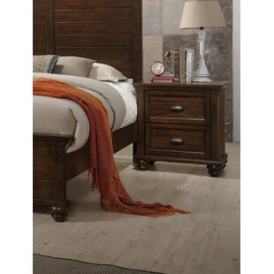Kamarre 2 Drawer Nightstand by Darby Home Co