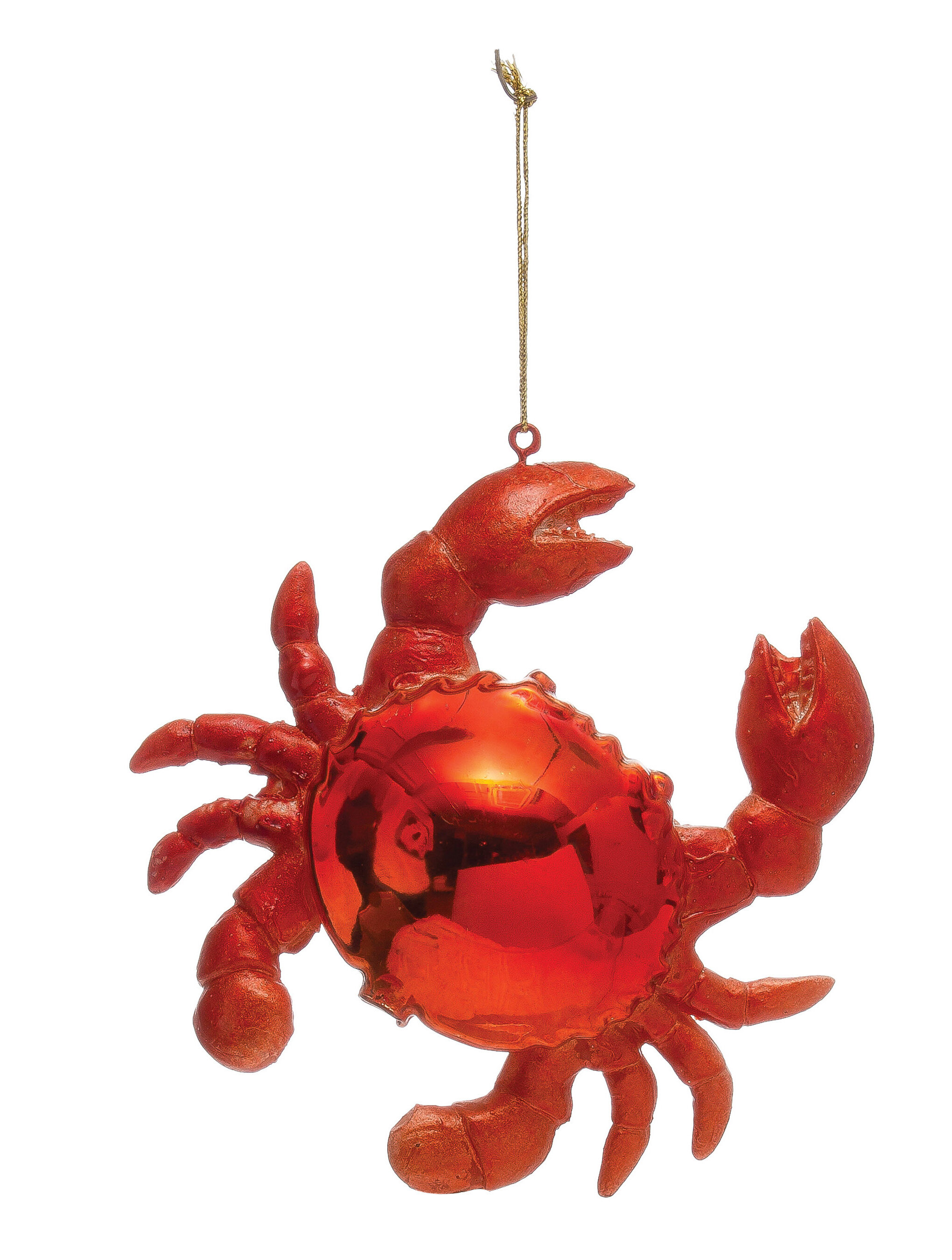 Crab Hanging Figurine Ornament Birch Lane