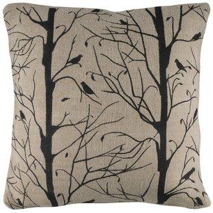 Aditya Finch Pillow Cover