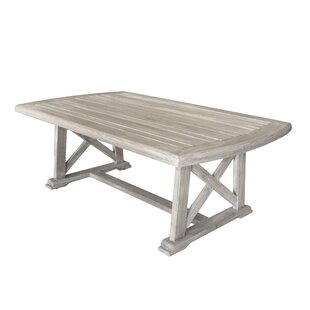 Gracie Oaks Jessica Casual Outdoor Coffee Table