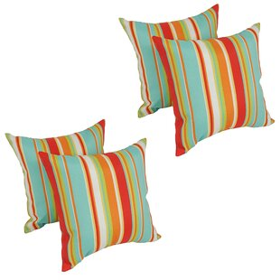 Havilland Outdoor Throw Pillow (Set of 4)