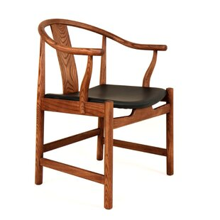 Ming Genuine Leather Upholstered Dining Chair