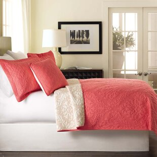Luxembourg 3 Piece Reversible Coverlet Set