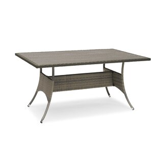 Aleydis Rattan Dining Table By Sol 72 Outdoor