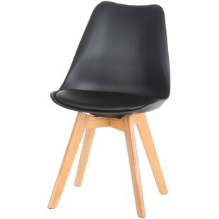 Design Tree Home Genuine Leather Upholstered Dining Chair