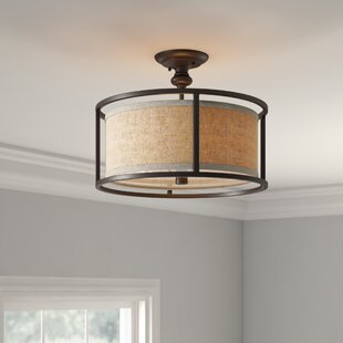 Elmhurst 3-Light Semi Flush Mount by Birch Lane? Heritage