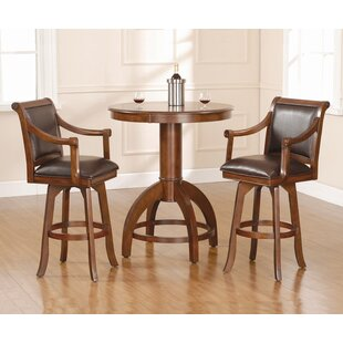 Shiloh 3 Piece Pub Table Set b..