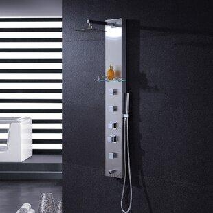 Luxier Rain Shower Head Shower Panel
