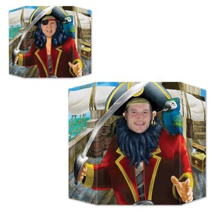 Pirate Photo Prop Decorative Plaques