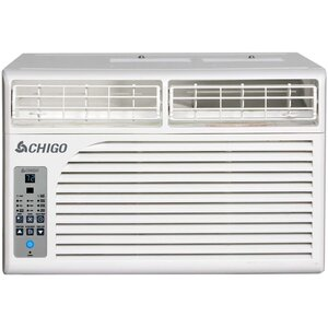 6,400 BTU Energy Star Window Air Conditioner with Remote