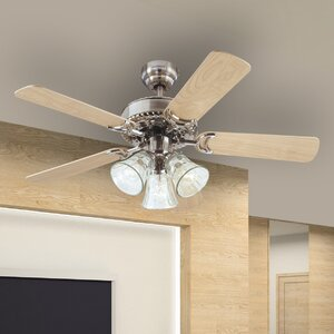 42″ Dalton 5 Reversible Blade Ceiling Fan