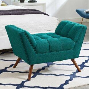 Ivy Bronx Freeborn Upholstered Ottoman