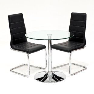 Carlisle Dining Set With 2 Chairs By Metro Lane