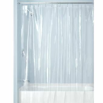 Slipxsolutions Peva Single Shower Liner With Microban Reviews Wayfair