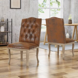 Arend Traditional Upholstered Dining Chair (Set of 2) by House of Hampton SKU:BA824420 Price Compare
