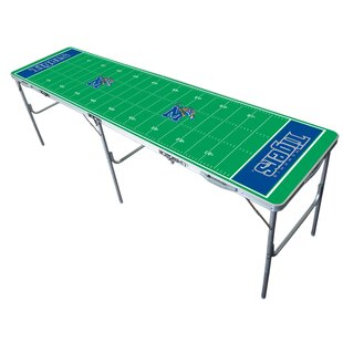 NCAA 96 Rectangular Folding Table by Tailgate Toss