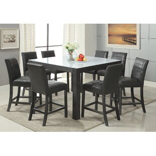 Hermantown Counter Height Dining Table Red Barrel Studio