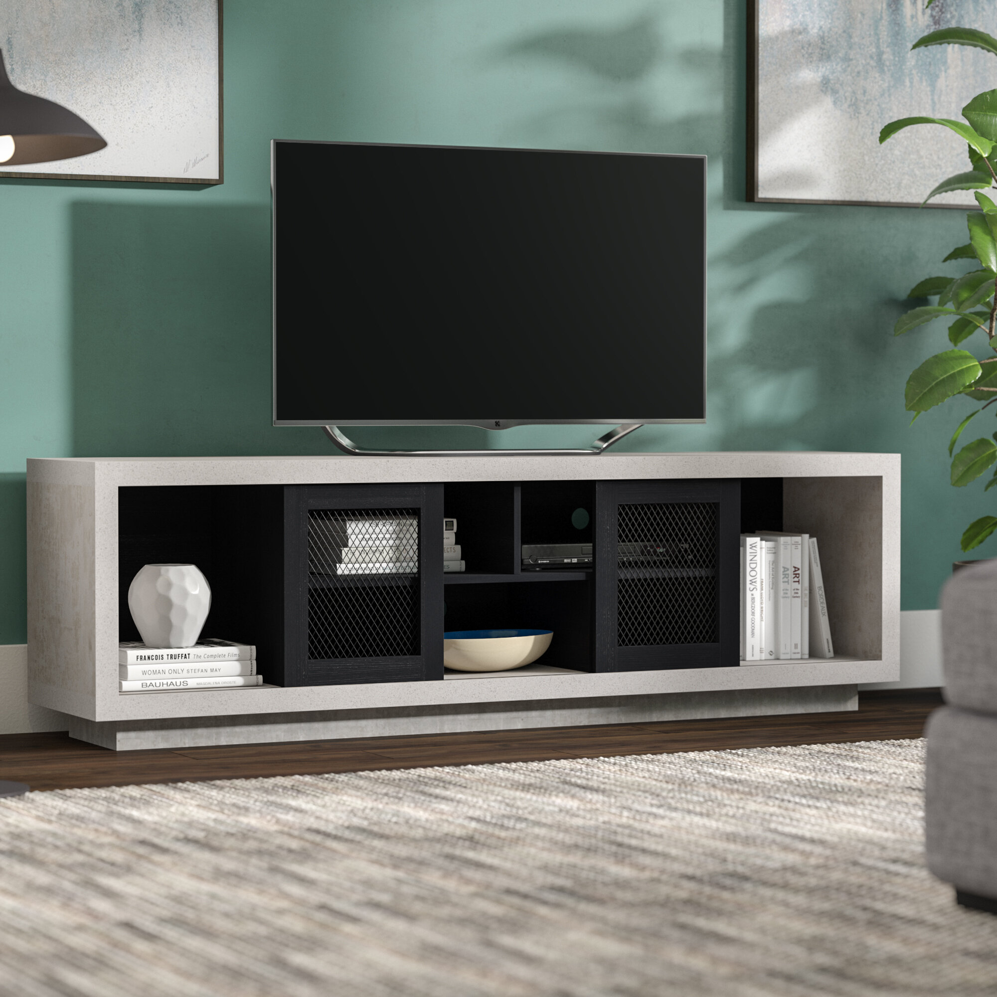 Cioffi Industrial TV Stand for TVs up to 70\