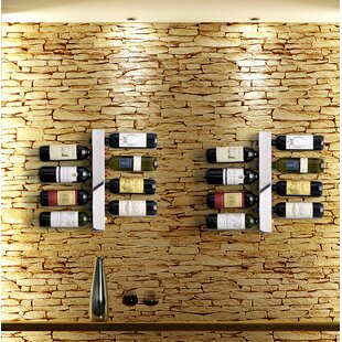 Blast 8 Bottle Wall Mounted Wine Rack by ..