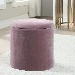 Dumas Round Storage Ottoman by Mercer41