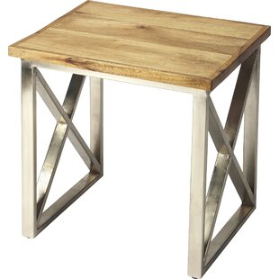 Athena End Table by 17 Stories