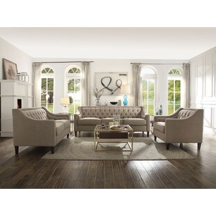 Deals Damiáno Configurable Living Room Set by Darby Home Co Reviews (2019) & Buyer's Guide