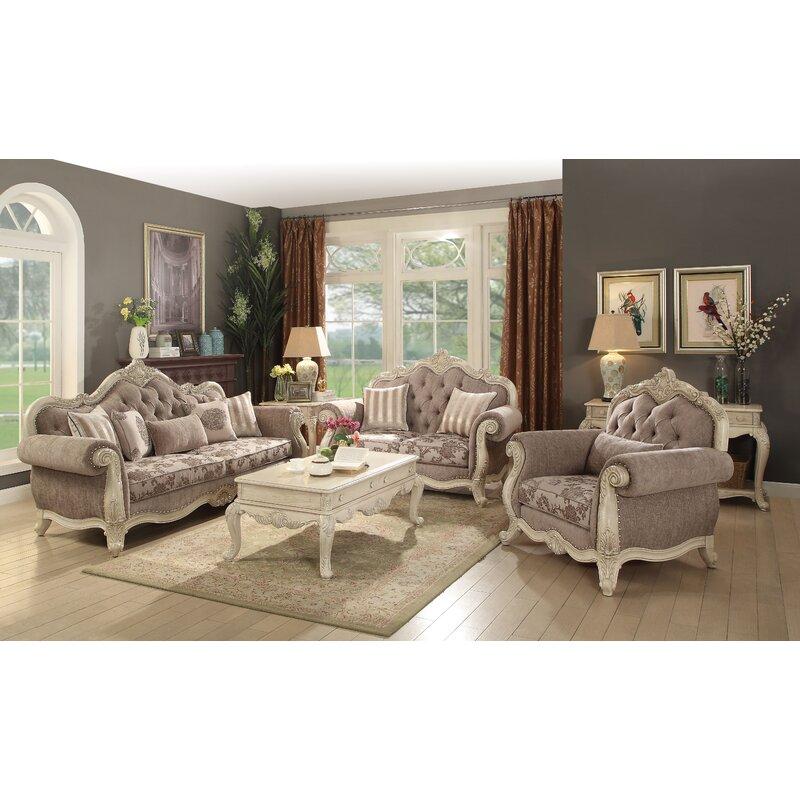 Astoria Grand Staats Configurable Living Room Set Wayfair