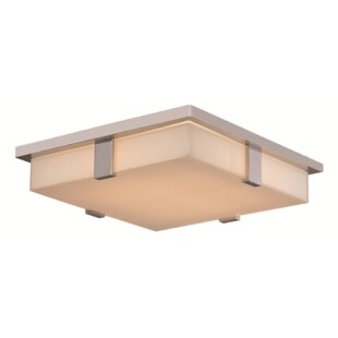 Latitude Run Vicky 1-Light LED Flush Mount