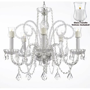 Astoria Grand Linney 5-Light Candle Style..