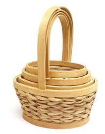 Purchase Oval 4 Piece Wicker Basket Set By August Grove