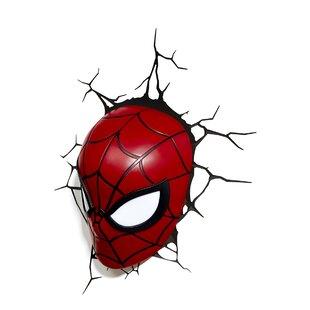 3D Light FX 3D Spiderman Mask Deco 2-Light Night Light