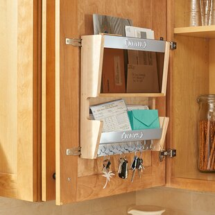 13.5 x 15 x 3.56 Door Mounted Mail Organizer by Rev-A-Shelf