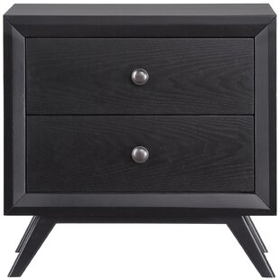 Modesto 2 Drawer Nightstand by Langley Street