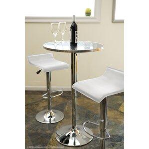 Adlai Adjustable Height Pub Table by Varick Gallery